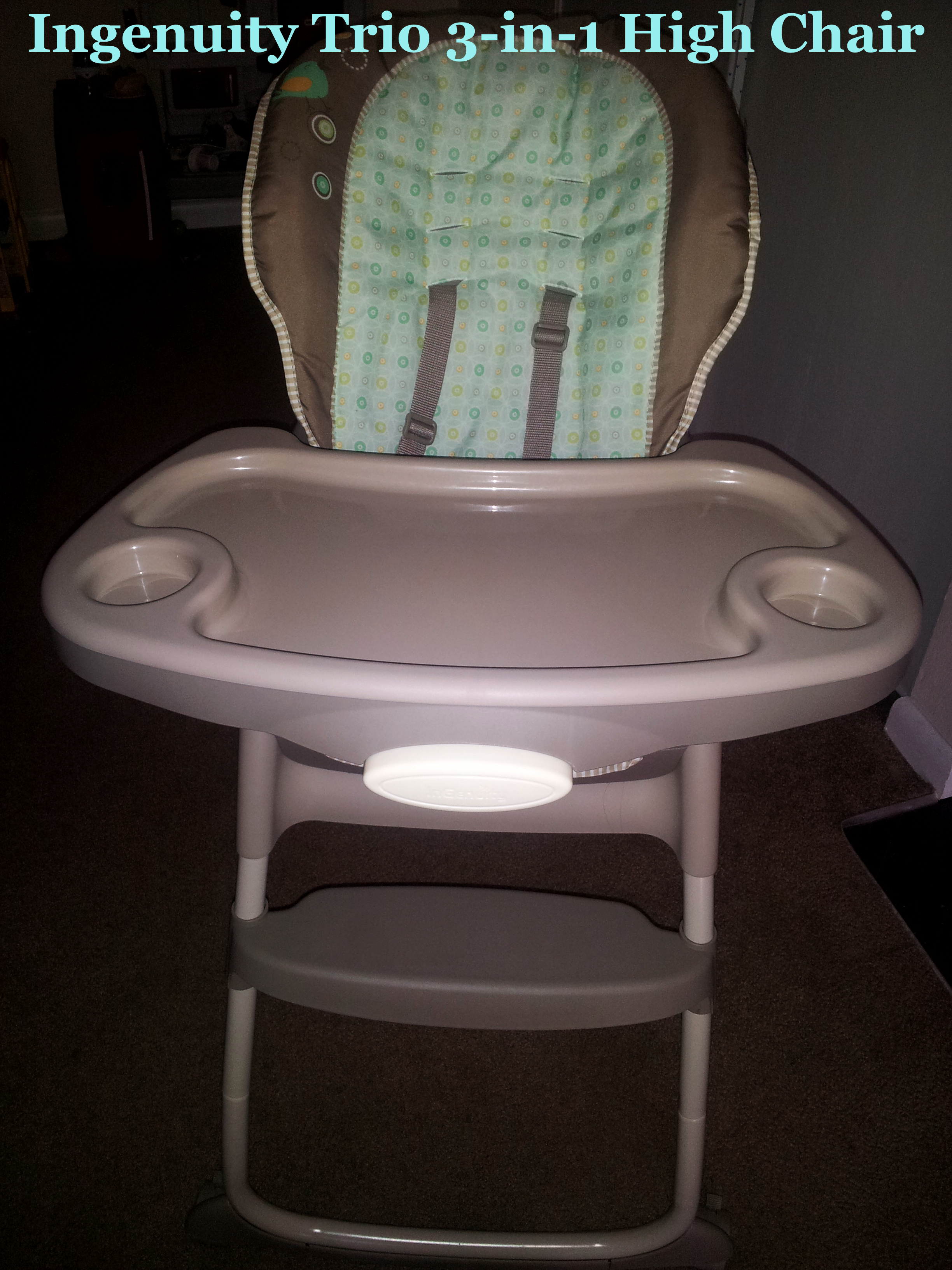 Ingenuity Trio 3 in 1 High Chair – Whimsical Wonders Collection