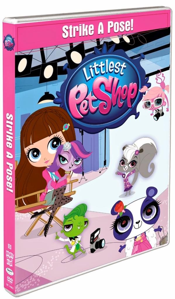 littlest pet shop strike a pose dvd