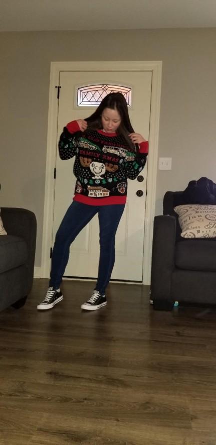 me in sweater 2